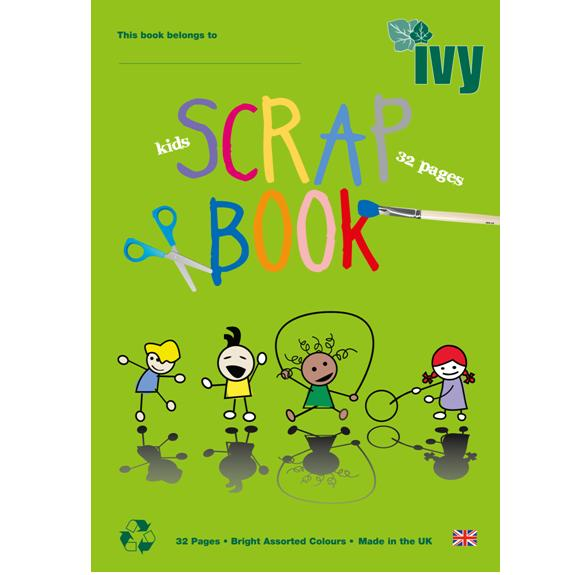 IVY KIDS MULTI-COLOURED SCRAPBOOKS 32PGS BOX 6 – Ivy Stationery