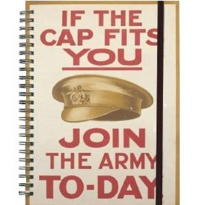 IWM08CF If The Cap Fits A5 Spiral NotebookW