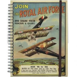 IWM08RV Join the RAF A5 Spiral NotebookW